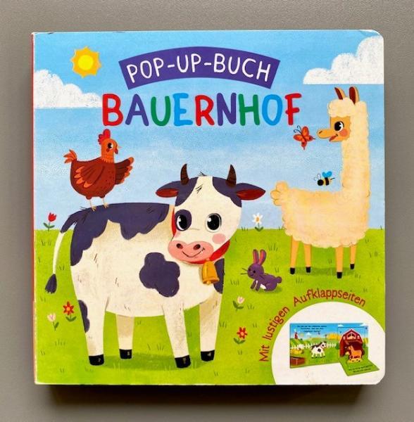 Pop-up-Buch Bauernhof (Mängelexemplar)