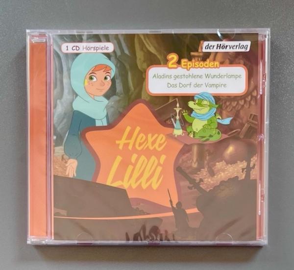 Hörspiel: Hexe Lilli: Aladins gestohlene Wunderlampe & Das Dorf der Vampire