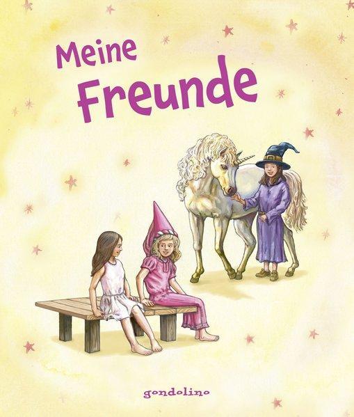 Meine Freunde - Starke Mädchen. Freundebuch für Kinder ab 6 Jahre.
