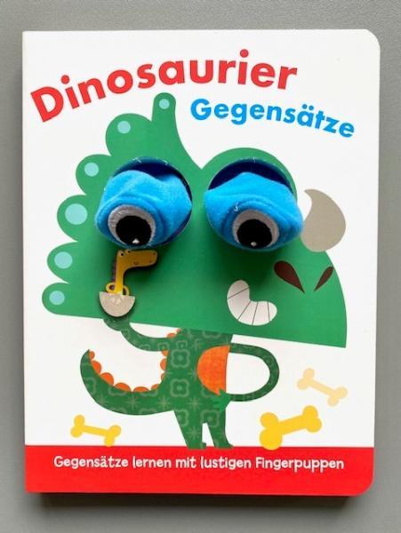Dinosaurier Gegensätze - Fingerpuppenbuch (Mängelexemplar)