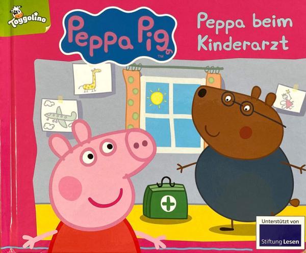 Peppa Pig: Peppa beim Kinderarzt (Mängelexemplar)