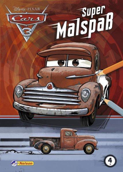 Disney Cars 3: Super Malspaß (Mängelexemplar)
