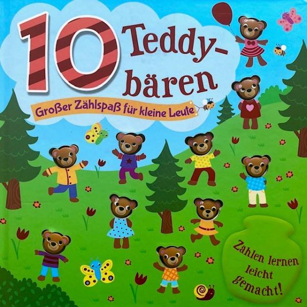 10 Teddybären - Großer Zählspaß für kleine Leute