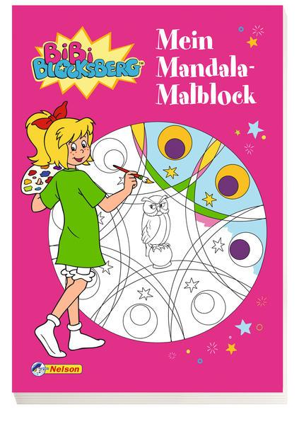 Bibi Blocksberg: Mein Mandala-Malblock (Mängelexemplar)