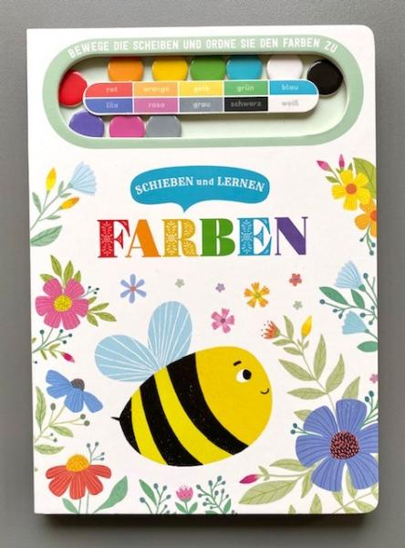 Farben - Schieben und Lernen (Mängelexemplar)