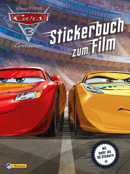 Disney Cars 3 : Stickerbuch zum Film (Mängelexemplar)