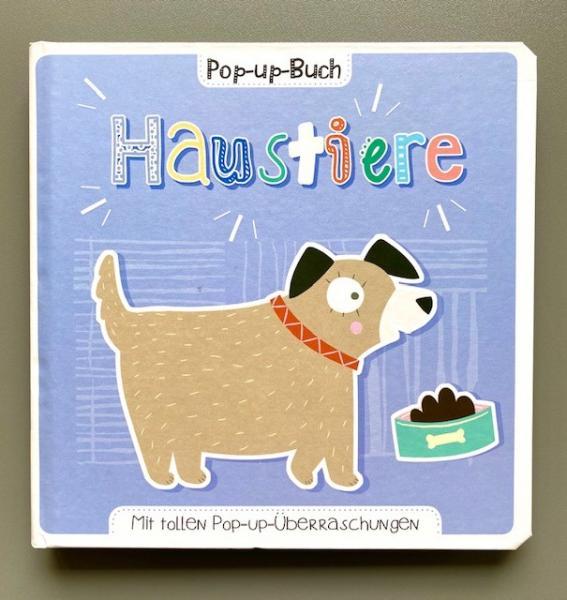 Haustiere - Pop-up-Buch (Mängelexemplar)