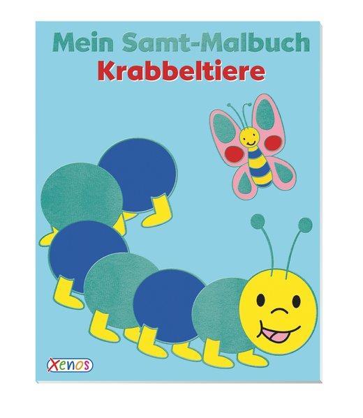 Mein Samt-Malbuch: Krabbeltiere (Mängelexemplar)