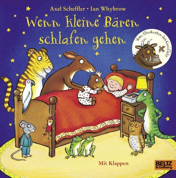 Wenn kleine Bären schlafen gehen - Pappbilderbuch mit Klappen (Mängelexemplar)