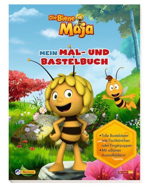 Die Biene Maja: Mein Mal- und Bastelbuch: Tolle Bastelideen. Mit schönen Ausmalbildern
