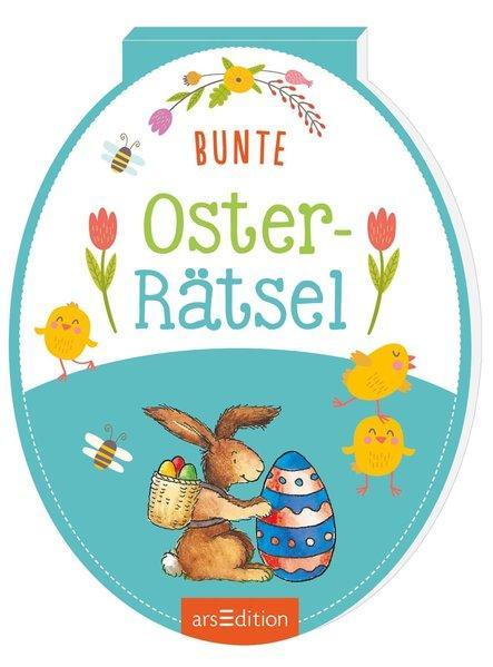 Bunte Oster-Rätsel (Mängelexemplar)