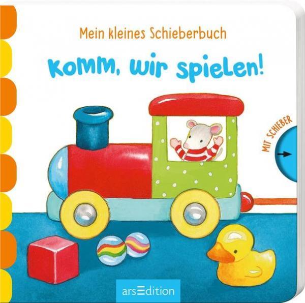 Mein kleines Schieberbuch - Komm, wir spielen!