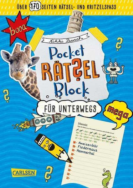 Pocket-Rätsel-Block: Rätsel für unterwegs - 100% Rätselspaß für deine Tasche (Mängelexemplar)