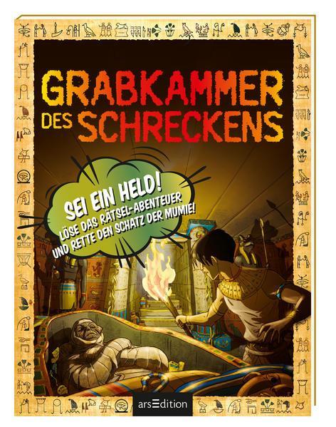 Grabkammer des Schreckens - Löse das Rätsel-Abenteuer und rette den Schatz der Mumie!