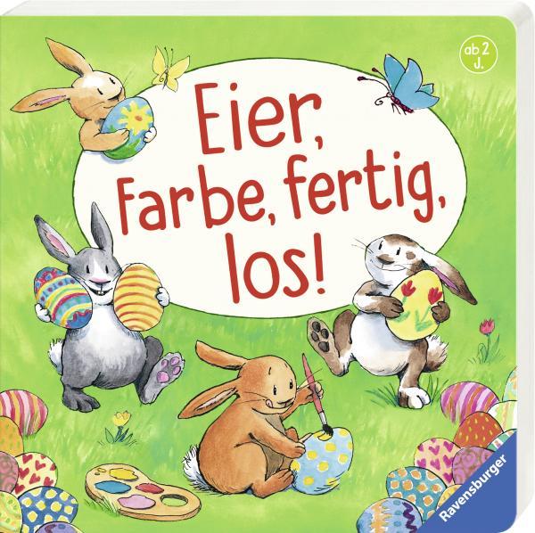 Eier, Farbe, fertig, los! (Mängelexemplar)