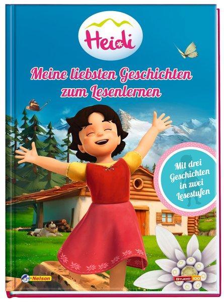 Heidi: Mein liebsten Geschichten zum Lesenlernen - drei Geschichten in zwei Lesestufen