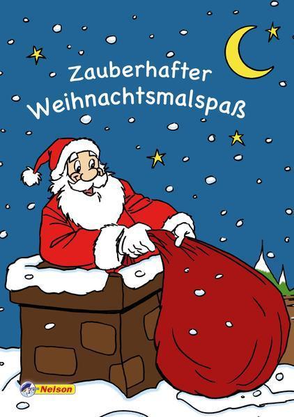Zauberhafter Weihnachtsmalspaß (Mängelexemplar)