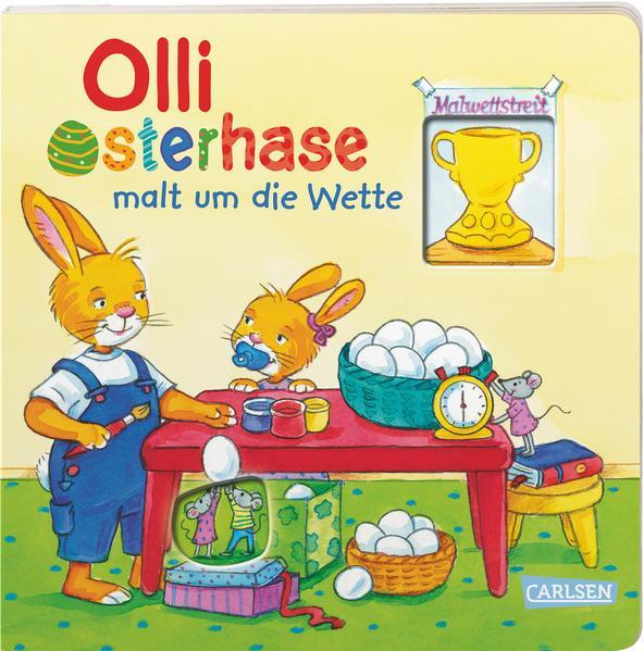 Olli Osterhase malt um die Wette (Mängelexemplar)