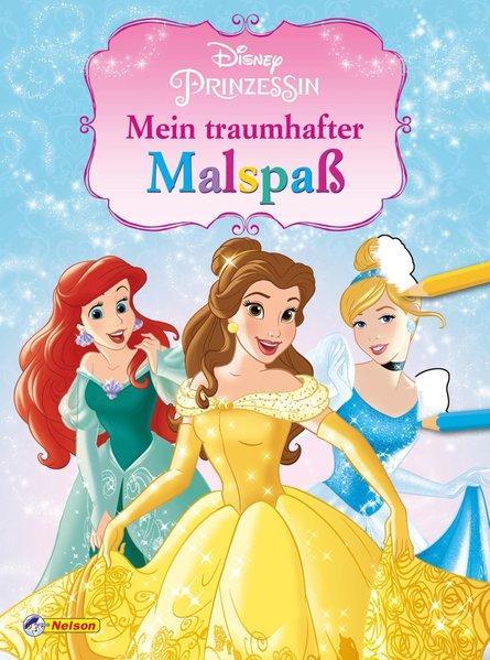 Disney Prinzessin: Mein traumhafter Malspaß (Mängelexemplar)