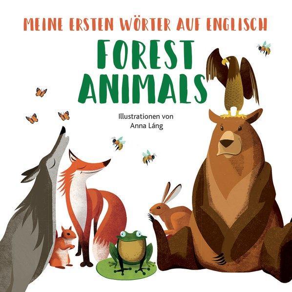 Forest Animals - Meine ersten Wörter auf English