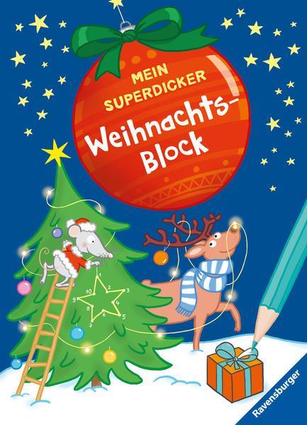 Mein superdicker Weihnachtsblock (Mängelexemplar)