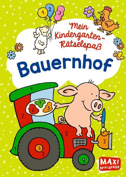 Mein Kindergarten-Rätselspaß - Bauernhof