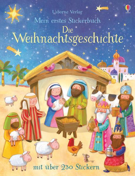 Mein erstes Stickerbuch: Die Weihnachtsgeschichte (Mängelexemplar)