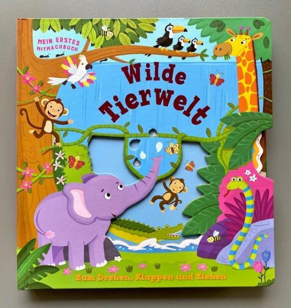 Wilde Tierwelt - Mein erstes Mitmachbuch (Mängelexemplar)