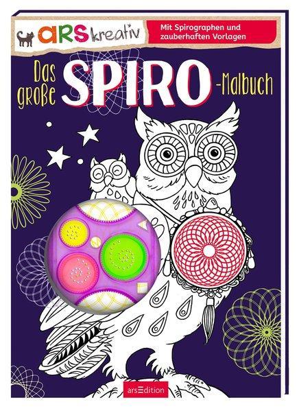 Das große Spiro-Malbuch - Mit Spirographen-Set