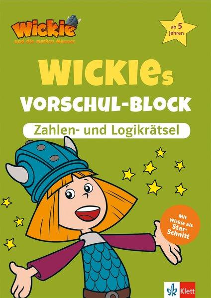 Wickies Vorschul-Block Zahlen- und Logikrätsel - ab 5 Jahren