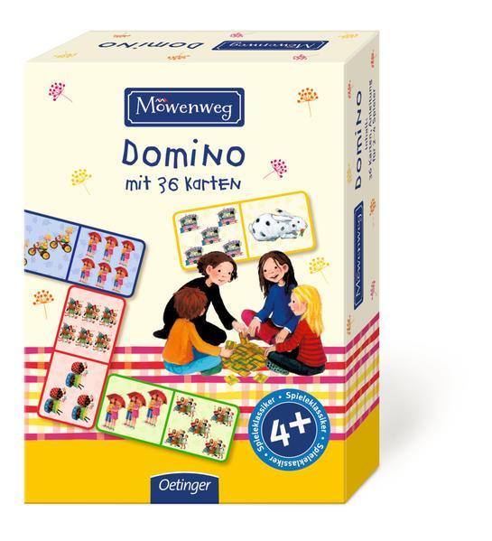 Möwenweg Bilder-Domino mit 36 Karten
