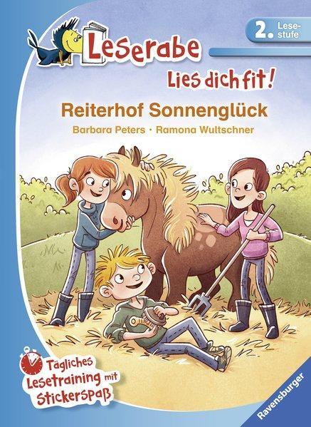 Reiterhof Sonnenglück - Tägliches Lesetraining mit Stickerspaß