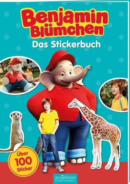 Benjamin Blümchen - Das Stickerbuch - mit über 100 Stickern (Mängelexemplar)