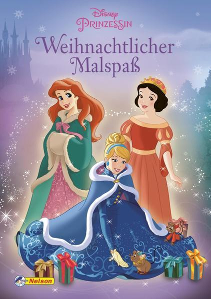 Disney Prinzessin: Weihnachtlicher Malspaß - Ausmalmotive zu Weihnachten (Mängelexemplar)
