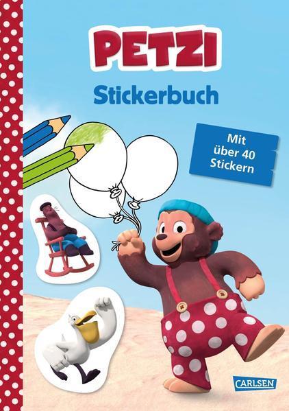Petzi: Stickerbuch - zur Fernsehserie