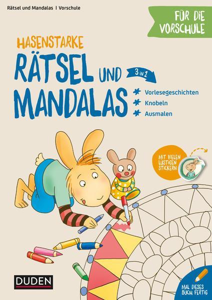 Hasenstarke Rätsel und Mandalas für die Vorschule - Knobeln - Rätseln - Malen