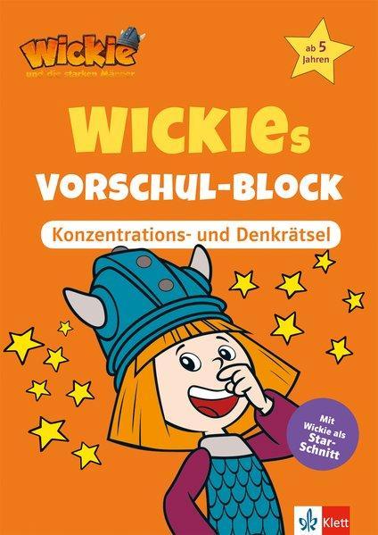 Aktion: Wickies Vorschul-Block Konzentrations- und Denkrätsel - ab 5 Jahren