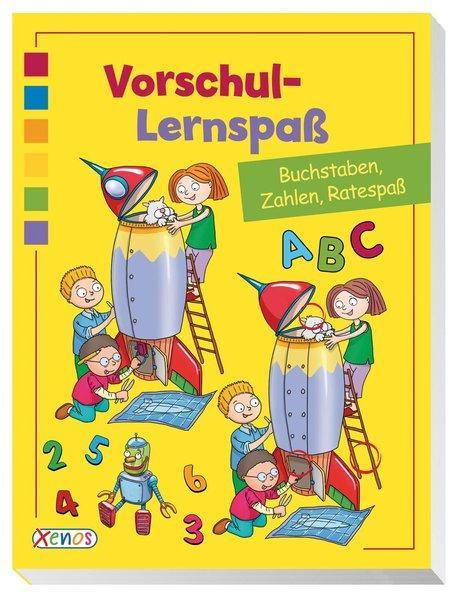Vorschul-Lernspaß - Buchstaben, Zahlen, Ratespaß