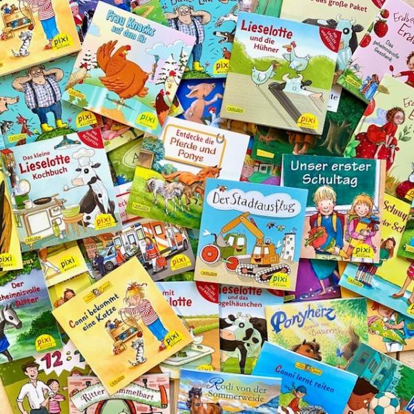 Überraschungsset: 10 Pixi Bücher (Mängelexemplar)