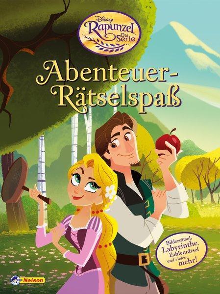 Disney Rapunzel Die Serie: Abenteuer-Rätselspaß - Mit tollen Stickern (Mängelexemplar)