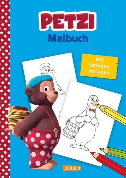 Petzi: Malbuch - zur Fernsehserie (Mängelexemplar)