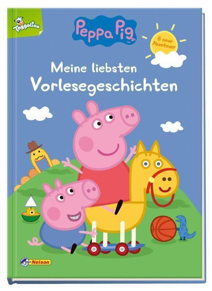 Peppa: Meine liebsten Vorlesegeschichten - Mit 8 neuen Abenteuern (Mängelexemplar)