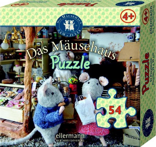 Das Mäusehaus Puzzle 54 Teile