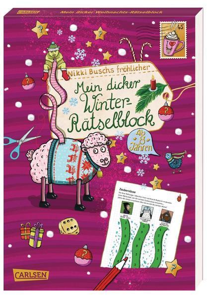 Mein dicker Winter-Rätselblock-Band 6: Rätsel, Knobelaufgaben, Scherzfragen (Mängelexemplar)