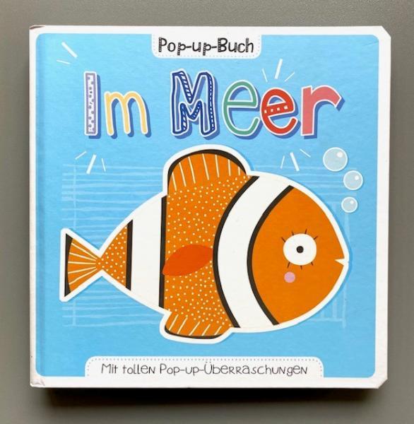Im Meer - Pop-up-Buch (Mängelexemplar)