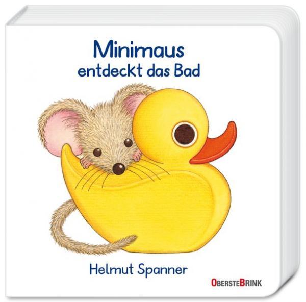 Minimaus entdeckt das Bad