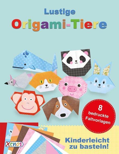 Lustige Origami-Tiere - mit Bastelanleitung und Origami-Papier