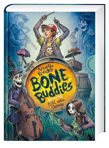 Bone Buddies - Echt nette Skelette (Mängelexemplar)