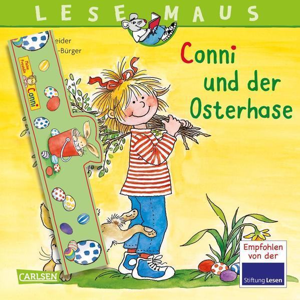 LESEMAUS 77: Conni und der Osterhase - mit Eierbecher zum Basteln (Mängelexemplar)