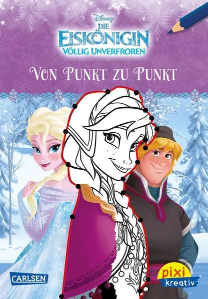 Pixi kreativ 99: Disney: Die Eiskönigin - Von Punkt zu Punkt (Mängelexemplar)
